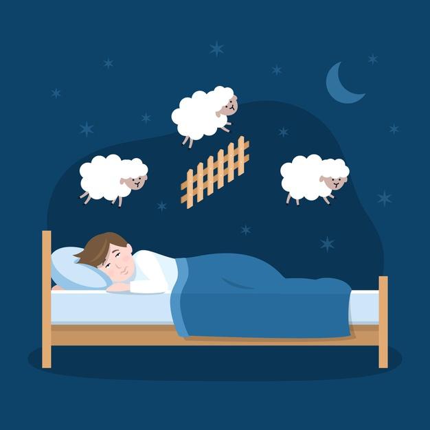 استرس و خواب
