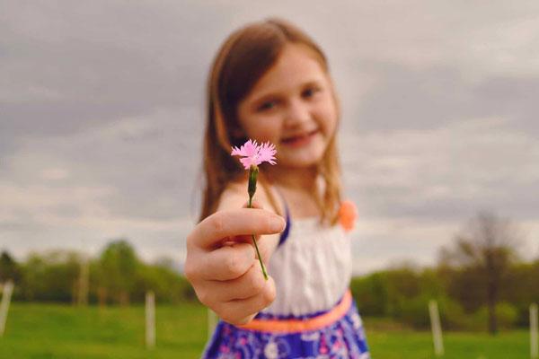 آموزش قدرشناسی به کودکان